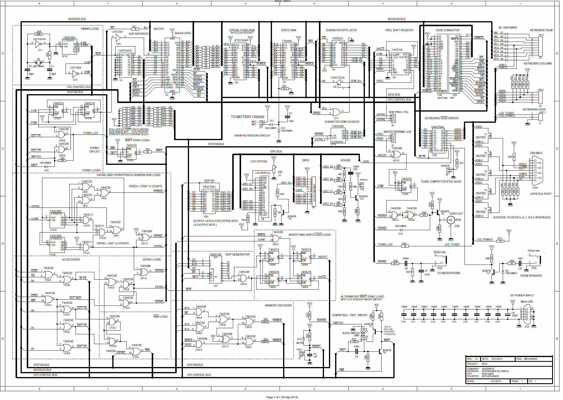 schematic raspberry pi b