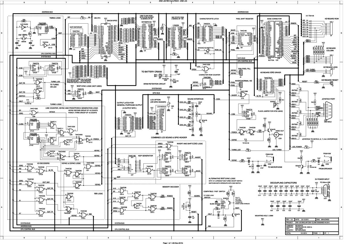 zx81plus34 zx81 clone