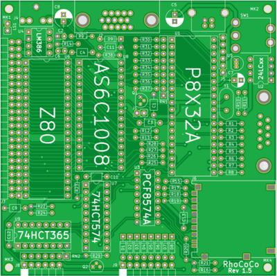 Designing the RhoCoCo Retro Home COlor COmputer hardware - RevSpace
