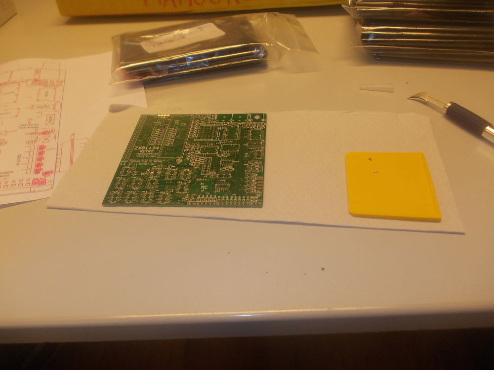 Starting the assembly of the ZX81+34 small.JPG